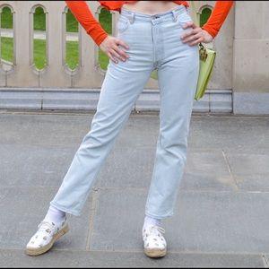 RE/done Levi's ultra high rise skinny jean